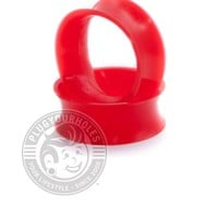 Red Silicone Ear Skins