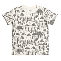 Grey Campsite Toddler Tee