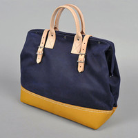 HICKOREE'S SPECIAL EDITION BAG #312-002, NAVY :: HICKOREE'S HARD GOODS