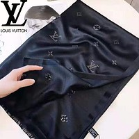 Louis Vuitton LV Fashion Women Easy To Match Silk Scarf Shawl Scarves