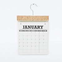 WitShop Pinboard Calendar - Urban Outfitters