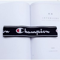 Champion Sports Casual Letter Simple Hair Band Of Yoga And Fitness Headband Headband With Headbands