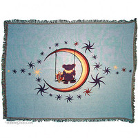 Grateful Dead - Moon Swing Throw Blanket on Sale for $85.00 at HippieShop.com
