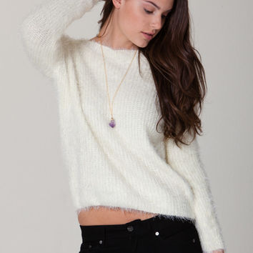 Lexxi Eyelash Sweater
