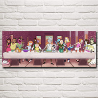 Rick and Morty's Last Supper Poster
