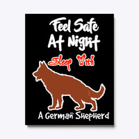 Feel Safe At Night With German Shepherd