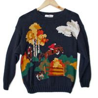 What Does The Fox Say? Tacky Ugly Sweater