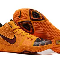 Nike Kyrie Irving 3 Yellow Basketball Shoe