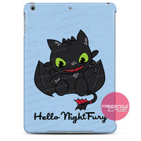 Hello Night Fury-Dragon iPad Case 2, 3, 4, Air, Mini Cover