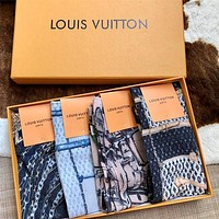 Louis Vuitton LV Gold thread socks