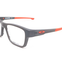 Oakley Splinter OX8077-0552 Satin Flint / Orange Eyeglasses