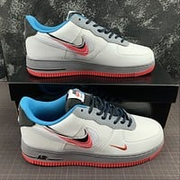Morechoice Tuhz Nike Air Force 1 Low Time Capsule Sneakers Cript Swoosh Casual Skaet Shoes Ct1620-100