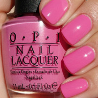 OPI Nail Polish (M15-If You Moust You Moust) NEW Minnie Mouse Collection PINK