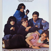 The Breakfast Club Movie (Group) Poster Print - 24x36 FREE SHIPPING