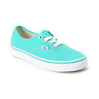 Vans Authentic Pool Green & White Shoe at Zumiez : PDP