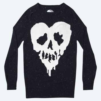 Donegal Knitted Sweater (Skull Fucked Edition)