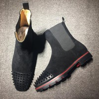 Cl Christian Louboutin Boots Style #2098 Sneakers Fashion Shoes - Best Online Sale