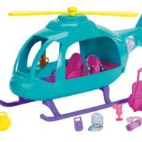 Polly Pocket Vacation Helicopter Playset