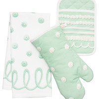 Kate Spade Icing Three-Piece Set Mint ONE