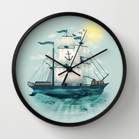 The Whaleship Wall Clock by Dan Elijah G. Fajardo
