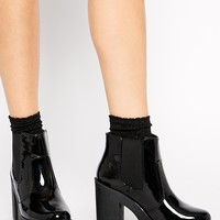 New Look Elephant 2 Chunky Sole Heeled Ankle Boots