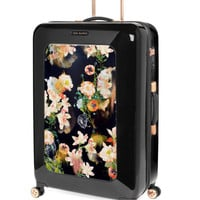 Large opulent bloom case - Black | Bags | Ted Baker ROW