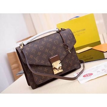 lv louis vuitton women leather shoulder bags satchel tote bag handbag shopping leather tote crossbody 140