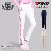 2018 PGM Golf Pants Women Golf Trousers Hight Elasticity Sportwear Lady Slim Clothes Quick Dry Trouser Golfs Apparel XS-XL