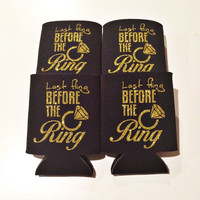 Last Fling Before the Ring Coozies