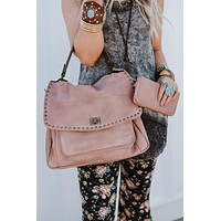 Loved Leather Hobo Bag - Blush