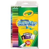 "Crayola 50ct Washable Super Tips - ""Styles May Vary"""