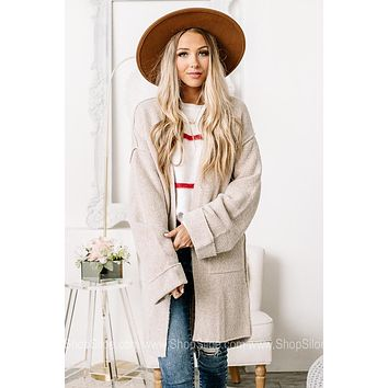 On The Cozy Side Open Front Cardigan