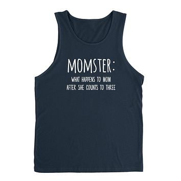 Momster what happens to mom after she counts Tank Top