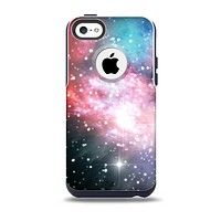 The Colorful Neon Space Nebula Skin for the iPhone 5c OtterBox Commuter Case