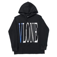 vlone Fashion printed cotton unisex sweatshirt