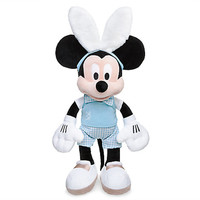 """Disney Store Easter 19"""" Mickey with Bunny Headband Plush New with Tags"""