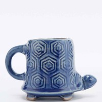 Turtle Mug in Blue - Urban Outfitters