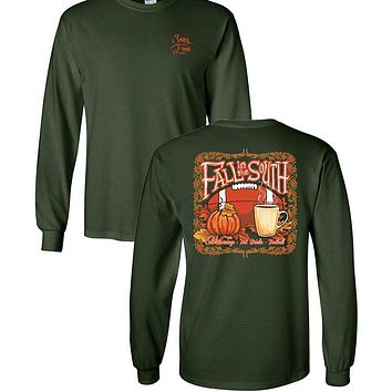 Sassy Frass Fall In The South Long Sleeve T-Shirt