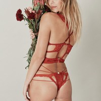 ETIENNE LACE THONG
