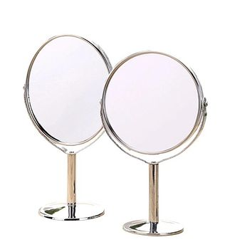 JOLLITY Design Self-Care & MakeUp Desktop Mirror with 2-Sided Mirror & Magnification