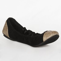 Women's Thesis Shoein Black/Gold by Daytrip.