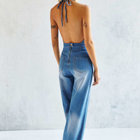 MINKPINK Lights Out Flare Overall - Urban Outfitters