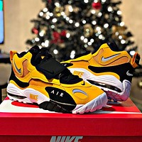 Bunchsun Nike Air Max Speed Turf Men Women Personality Sport Running Shoes Sneakers Yellow