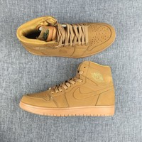 Best Deal Online Nike Air Jordan Retro 1 Wheat