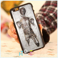 """Han Solo Carbonite Star Wars Style Custom Hard Mobile Phone Cases For iPhone 6 Case 4.7"""" For iphone 6 plus 5.5"""" Back Cover Skin"""