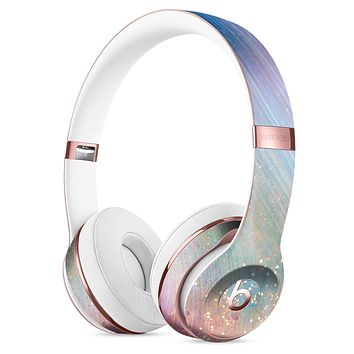 The Swirling Tie-Dye Scratched Surface Full-Body Skin Kit for the Beats by Dre Solo 3 Wireless Headphones