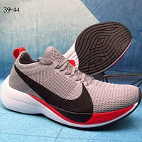 NIKE ZOOM VAPORFLY ELITE low woven fly line large hook tide brand fashion sneakers F-A36H-MY grey