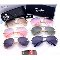 Ray-Ban 2019 new UV protection for men and women large frame color film polarized sunglasses