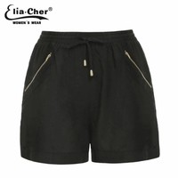 Shorts women shorts for women black or army green winter short fitness Plus Size female clothing