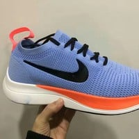 """""""Nike"""" Men Casual Fashion Flyknit Sock Sneakers Thick Bottom Running Shoes"""